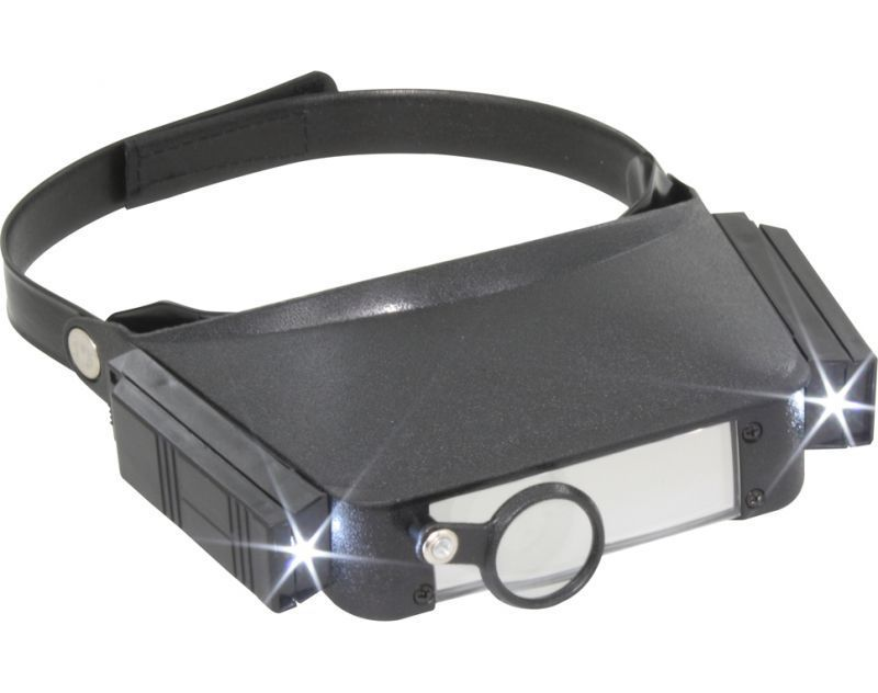 Headband Magnifier With Led Light Do Kbl20 Modellbahn