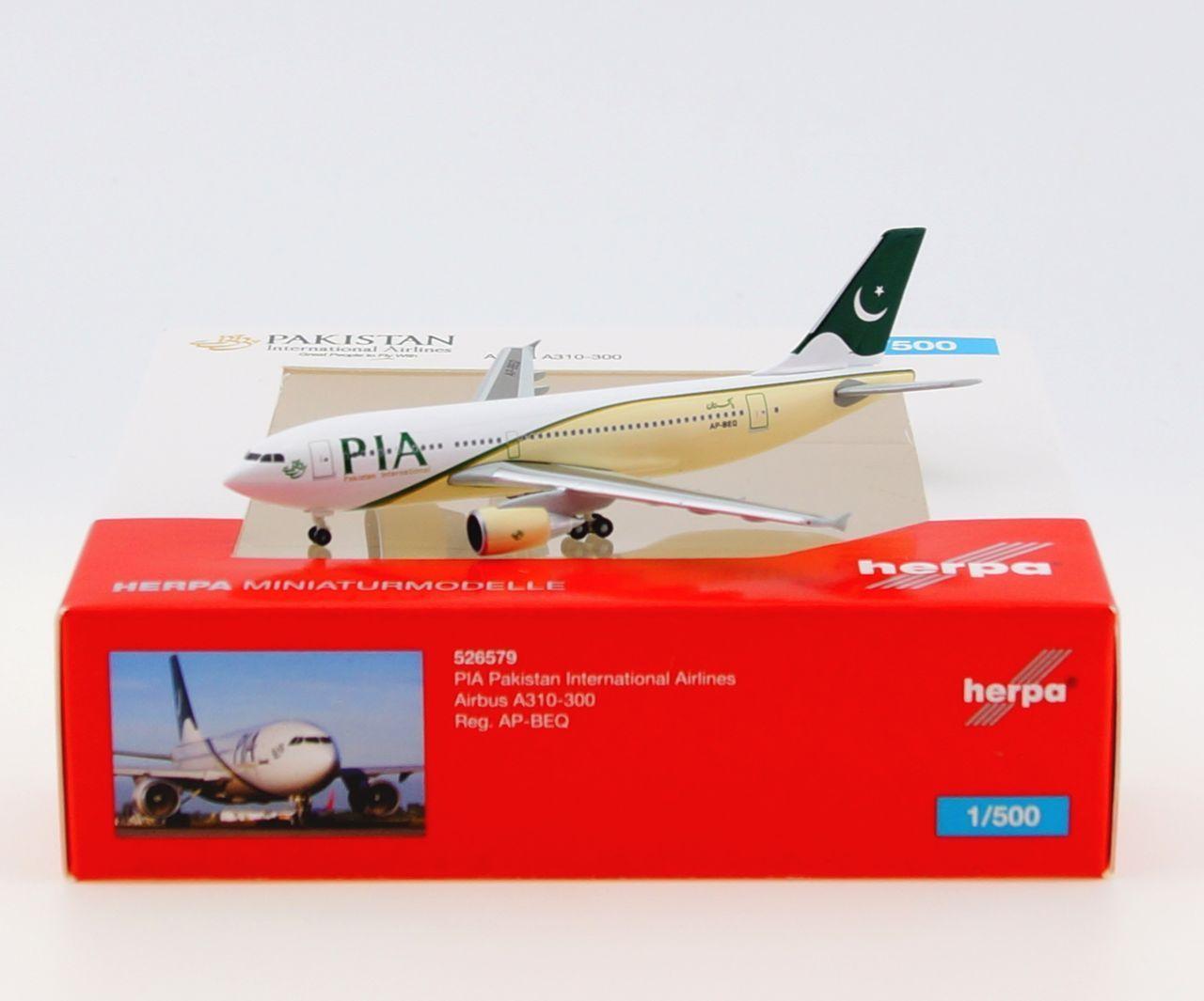 PIA Pakistan International Airbus A310-300 (HER 526579