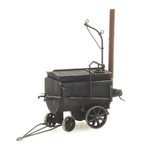 Tar tank cart, 1:87, ready made, painted (AR 387 275)