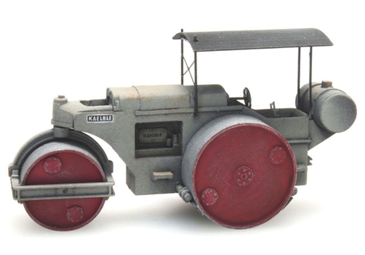 Walze Kaelble Typ 8 WG grau Artitec 387.274-1:87 lackiert Fertigmodell